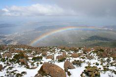Hobart, Tasmania, Australia Tasmania Hobart, Grand Canyon, Australia, Mountains, Country, Nature, Travel, Tasmania, Naturaleza