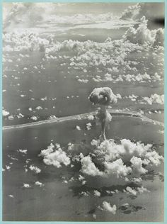 Atomic Bomb/ Nuclear Bomb detonation at by InterestingPhotos, $6.95