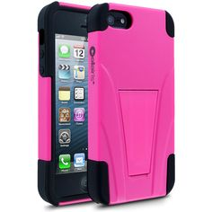 Cellairis Warrior Series: Hot Pink iPhone 5 Case for Apple iPhone 5 - $34.99 - #Pink #Black #AppleiPhone5