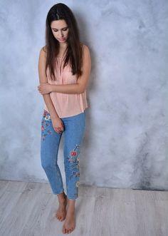 Aliexpress, Популярные джинсы с вышивкой что-то - http://aliotzyvy.ru/aliexpress-populyarnye-dzhinsy-s-vyshivkoj-chto-to/