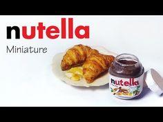 Tiny Nutella Inspired Tutorial - Polymer Clay/Mixed Media - YouTube