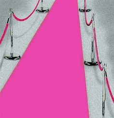 This Pink Carpet runner makes the perfect Bachelorette Party Decoration!  Just $8.99 at The House of Bachelorette!