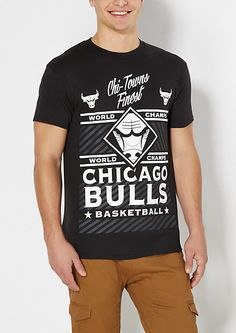 huge selection of 16d71 4cdb6 Chicago Bulls Champs Tee