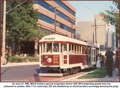 Trolley, McKinney Avenue Transit Authority, M-Line, Dallas, TX Home