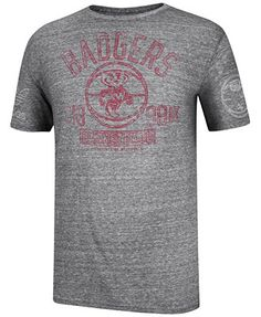 1808d835b4a4eb adidas Men s Short-Sleeve Wisconsin Badgers T-Shirt   Reviews - Sports Fan  Shop By Lids - Men - Macy s