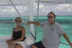 Cruisers boating in Abaco