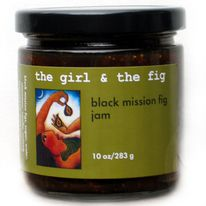 This jam contains no chemical preservatives or artificial coloring, just black mission figs, sugar, cinnamon, vanilla & nutmeg.