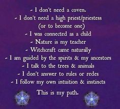 I am Wiccan