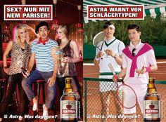 Astra Werbung