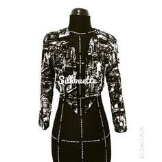 New creation from silhouette.. Classic abstract outerwear...