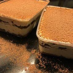 53 Ideas For Fruit Snacks Homemade Simple Non Bake Desserts, Pudding Desserts, Easy Desserts, Tiramisu Dessert, Tiramisu Recipe, Sweet Recipes, Snack Recipes, Dessert Recipes, Easy Recipes