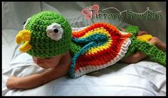 Crocheting: Parrot Baby!! For all those Parrotheads out there :)