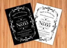 vintage aged to perfection funny birthday invite funny birthday