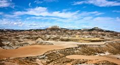 Désert des Bardenas #campingcar Location Camping Car, Grand Canyon, Golf Courses, Water, Travel, Outdoor, Basque, Spanish, Gripe Water