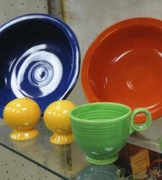 Love Fiesta ? Check out its colorful history, and see what old & new pieces are worth, on our website.