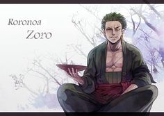 Tags: Anime, ONE PIECE, Roronoa Zoro, One Piece: Two Years Later, Teebohne