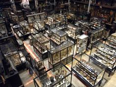 The Pitt Rivers Museum - this and other  great photos by blogger Luke Thompson shows the amazing range of the collections here.