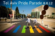 Known as the gay capital of the world, tens of thousands of people participate in the annual Tel Aviv's pride event, each year in June. Thousands of tourists from all across the world come to Israel to join the parade.
