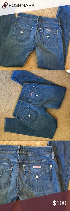 Women's Hudson Jeans Size 28 Excellent Condition!  Size 28 Hudson Jeans Jeans Skinny