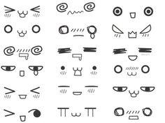 comment dessiner des yeux kawaii