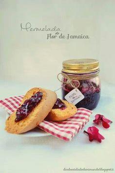 Mermelada flor de jamaica