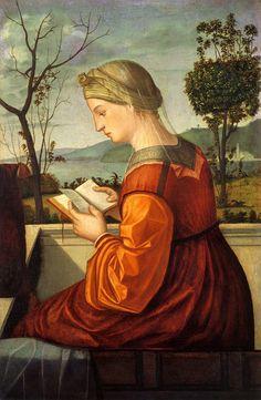 Virgin Reading, Vittore Carpaccio