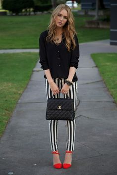 striped pants- if only I could wear them :,(