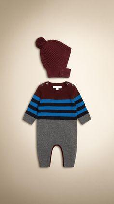 Set cadeau deux pièces en cachemire et laine | Burberry