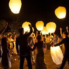Floating Lantern Tradition