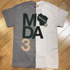 Our latest collaboration with the Bucks Pro Shop combines our classic Stacked logo with the Bucks new State logo for this 'Stacked State' tee ($25). Find it in our Buffalo Street store or online at MODA3.com right now! 🏀🏀🏀 #bucks #milwaukeebucks #bucksproshop #MODA3 #milwaukee #fearthedeer #ownthefuture #streetwear #NBA