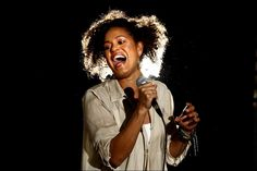 Christine Anu performed at St Scholastica's Founder's Day celebrations. Picture: PHIL BLATCH