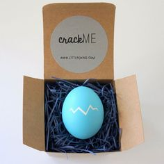 """Your bridesmaid will certainly crack a smile when she sees the """"will you be my bridesmaid?"""" note inside this egg."""