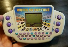 Wheel of Fortune Electronic Handheld Game - Tested and Working