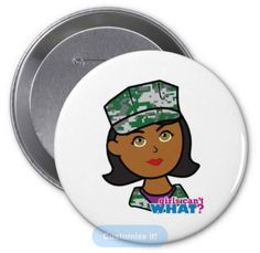Need more flair? Express yourself with Zazzle custom buttons. Choose from thousands of cool and colorful designs, customize, or make your own. http://www.girlscantwhat.com/personalized-gifts/marine/   #girlscantwhat #girlpower #marine #pinbackbutton