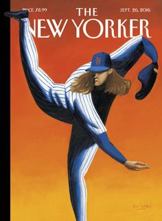 """The Mets are peaking at just the right time,"" Mark Ulriksen says about his cover for this week's issue. """