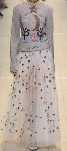 Moon & Stars at Dior Paris Spring 2017