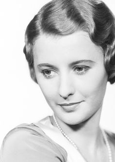 Barbara Stanwyck  One of Hollywood's brightest stars ever; beautiful and talented. I wish I had her voice.