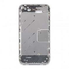 iPhone 4S Mid Plate Silver Bezel  Kit Includes: •1 Replacement iPhone 4S Mid Plate Silver Bezel •1 Set of Replacement Buttons •1 Replacement Sim Tray