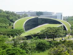 Green Roofs at Nanyang Technological University's School of Art, Design, and Media | CPG Consultants