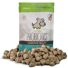 Everyday Probiotics for Dogs with Sensitive Stomachs: Natural Digestive Enzymes to Remedy Vomiting, Diarrhea, Constipation and Gas / Bloating (102 Treats/4 Billion CFU) @@ To have more info could be found at the image url. (This is an affiliate link and I receive a commission for the sales)