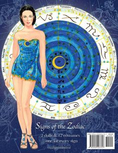 Signs of the Zodiac Paper Dolls: Sandra Vanderpoool, Paper Dolls, Sandra Vanderpool: 9781935223757: Amazon.com: Books
