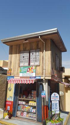 Architectural Scale, Variety Store, Filipino Culture, Retail Store Design, Urban City, Shelf Design, Environment Design, Art Model, City Streets