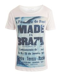 """For Him: """"Made in Brazil"""" T-Shirt by Serge de Nimes, from Wolf and Badger Brazil T Shirt, Tee Shirts, Tees, Badger, My Style, Wolf, Mens Tops, How To Make, Shopping"""