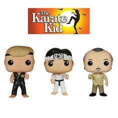 Funko Pop! Movies Karate Kid 3 Pop Set