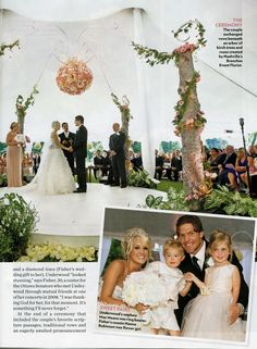 Carrie underwoods dress wedding pinterest carrie wedding and carrie underwoods wedding photos from people magazine junglespirit Choice Image