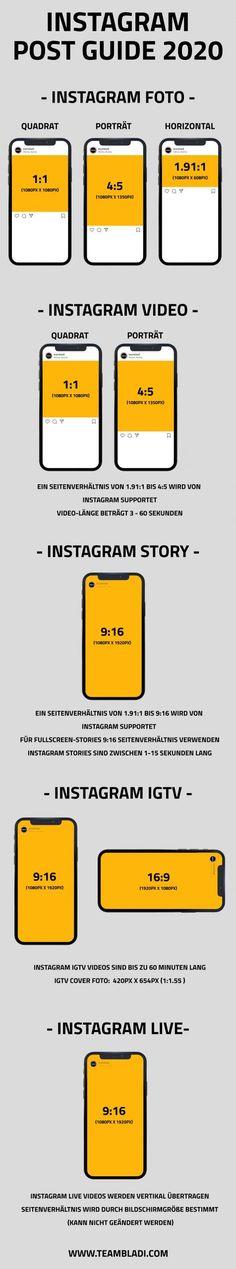 Instagram Bildauflösung 2020 - Was ist die beste Instagram Bildauflösung in 2020? #Instagram