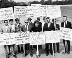 It has been 50 years since the first gay rights protest outside the White House