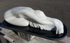 Bella - sculpture in marble by Alin Neacsu