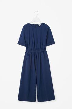 COS   Wide-leg cotton jumpsuit