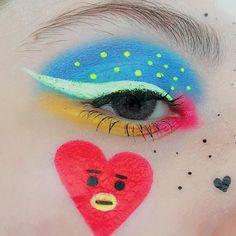 566 Likes 6 Kommentare ਏਓ 𝓚𝓸𝓽𝓲 ( auf Instag Cool Makeup Looks, Love Makeup, Makeup Inspo, Makeup Inspiration, Makeup Tips, Beauty Makeup, Makeup Ideas, Beauty Tips, Army Makeup